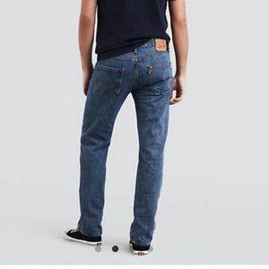 Levi 501 Button Fly Men's Jeans